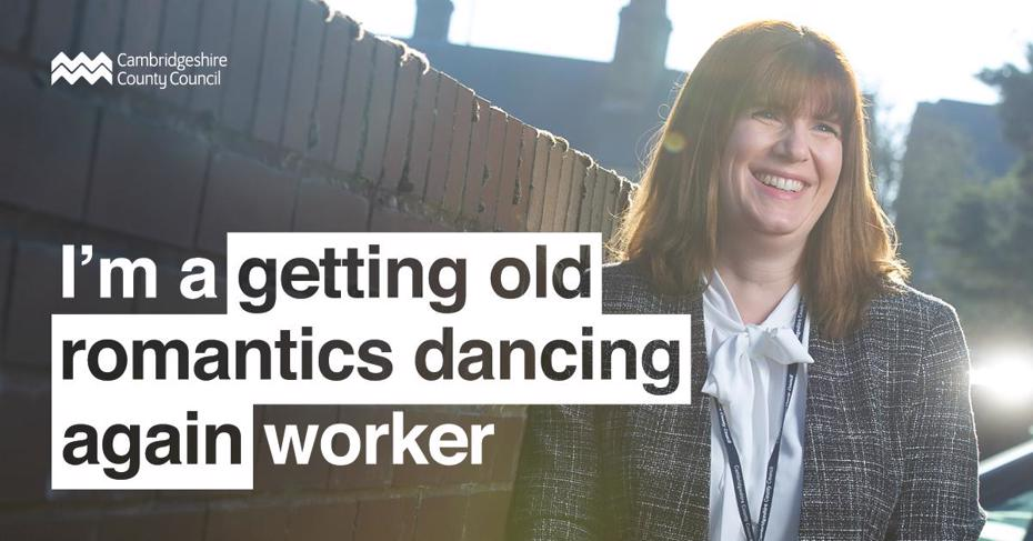 "Social worker - ""I'm a getting old romantics dancing again worker"""
